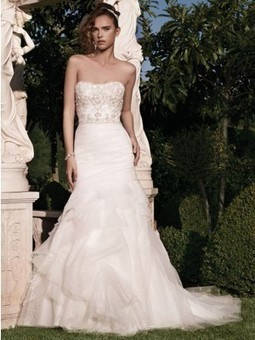 Casablanca 2133 wedding dress | Bridal Fashions | Scoop.it