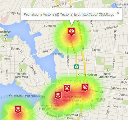 GeoSocial Web Service Identifies and Maps Your Geolocated Tweets | TIG | Scoop.it