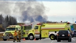 CBC News - CN fuel cars derail, explode west of Edmonton | Sustain Our Earth | Scoop.it