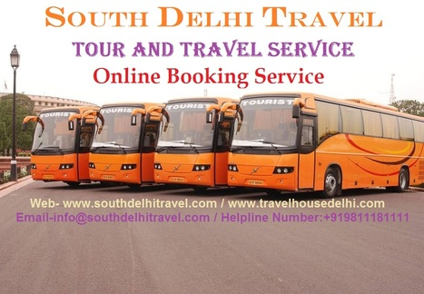 Volvo Bus Tickect Booking Service | South Delhi Travel Center- Tempo Traveller and Volvo bus Service By Tour  Call: +919811181111 | Scoop.it