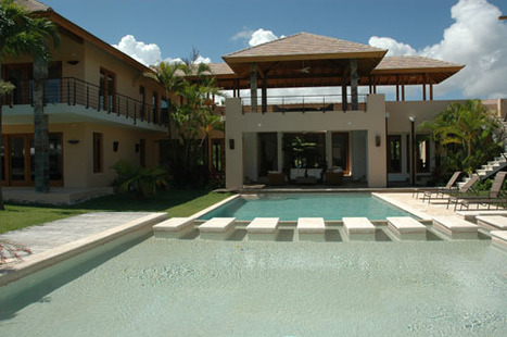 M-027 Beautiful Villa with 6 bedrooms in a gated community Cabarete Dominican Republic Real Estate Properties - Luxury Caribbean Villas and Beachfront Properties | Dominican Republic Real Estate | Scoop.it