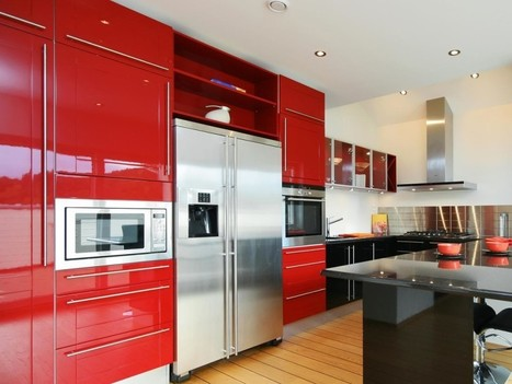 Tips on How to Add Colour to Your Kitchen | Real Estate | Scoop.it