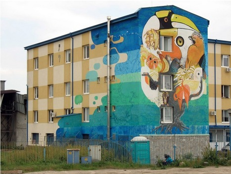 Street Art on a social and youth center – In Sofia, Bulgaria | World of Street & Outdoor Arts | Scoop.it