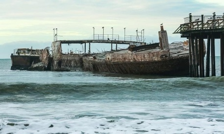Cement ship shifting at Seacliff Beach | Coastal Restoration | Scoop.it