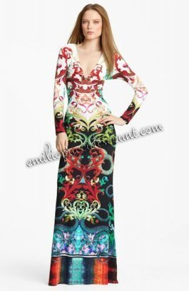 Cheap EMILIO PUCCI Stretch Jersey Gown Multicolor Printed [Multicolor Printed Stretch gown] - $206.99 : Emilio pucci dresses online outlet,discount pucci dresses on sale! | chic items | Scoop.it