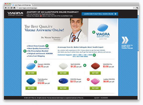 Characteristics to look out for in an illegitimate Online Pharmacy ... | Medicine uses | Scoop.it