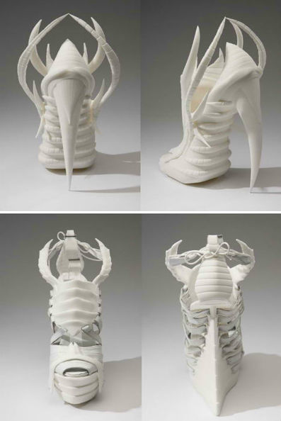 High Tech to High Fashion: Upscale 3D-Printed Designs | shubush digital | Scoop.it