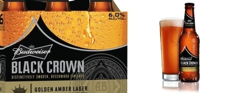 Drinking Made Easy – Budweiser Releases New Beer, Black Crown | The Beer Bubble | Scoop.it