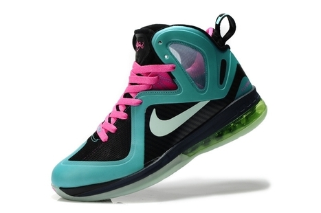 Nike LeBron 9 Mens South Beach Black Pink Basketball Shoes for Sale | Jordan 28 for sale | Scoop.it