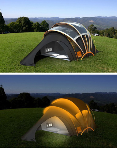 Glastonbury Solar Powered Concept Tent | Marketing with Shared Value | Scoop.it