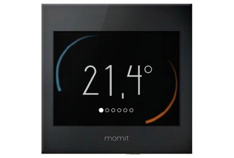 Green Momit, le thermostat connecté programmable et tactile | Connected-Objects.fr | Smart Grid - Projet Sunrise | Scoop.it