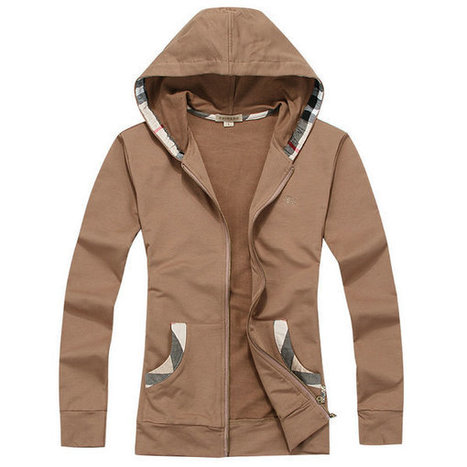 Burberry Hooded In Hat Zipper Beauty Brown For Women | Burberry Shirts mens and  womens | Scoop.it