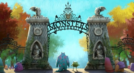 """Monsters University"" Schools You On How Movie Tie-In Websites Should Look 