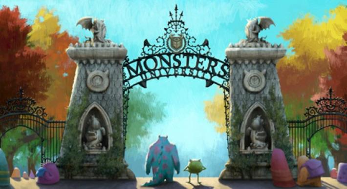 """""""Monsters University"""" Schools You On How Movie Tie-In Websites Should Look   Machinimania   Scoop.it"""
