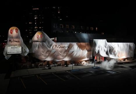 Halloween : Burger King se déguise en McDo | Innovative Marketing & Communication | Scoop.it
