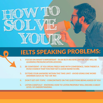 How To Solve Your IELTS Speaking Problems With These Solutions | IELTS Writing Test Tips and Training | Scoop.it
