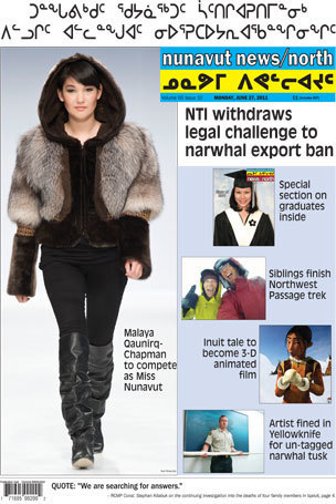 The Real Headlines for Nunavut News North for June 27th 2011   Inuit Nunangat Stories   Scoop.it