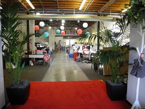 Inside Pinterest's San Francisco headquarters | Cap d'Agde | Scoop.it