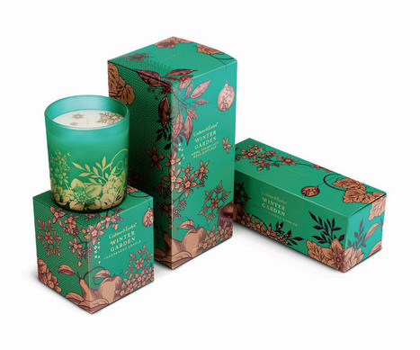 Crabtree & Evelyn Christmas Gift Collection Designed by Pearlfisher | Packaging Design Ideas | Scoop.it
