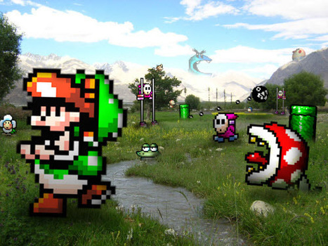 Retro Game Characters Invading Our Real Life [PICS] | youyouk | Scoop.it