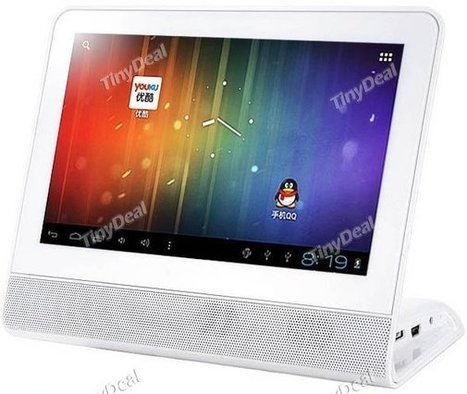 This Low End Android Tablet Comes with a (Non-Removable) Stand with Speaker | Embedded Systems News | Scoop.it