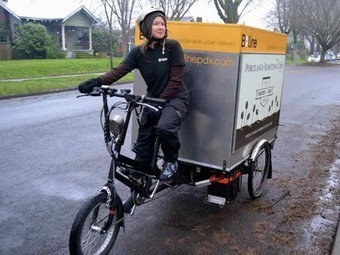 More than 50% of city freight could shift from truck to bike | Collaborative Logistics | Scoop.it