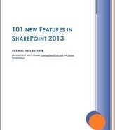 101 New Features In SharePoint 2013 - Free ebook  by LearningSharePoint.com   Business Collaboration   Scoop.it