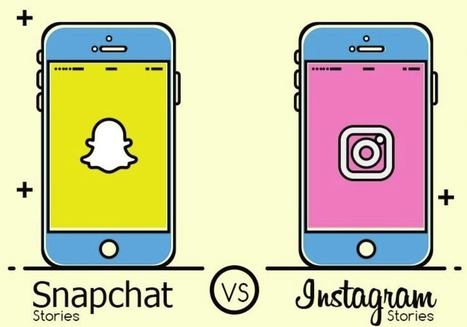 Snapchat Stories vs Instagram Stories | SportonRadio | Scoop.it