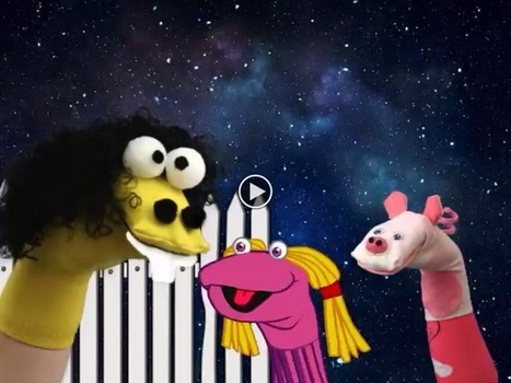 iArt4Kidz: Digital Storytelling: Sock Puppets Giggle Factor | Poetic Puppets | Scoop.it