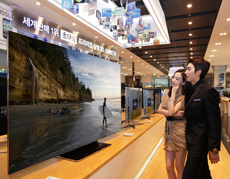 $17,400 For 75 Inches; Samsung's Latest TV | TECHNOLOGY | TechDrink | Technology Juice | Scoop.it