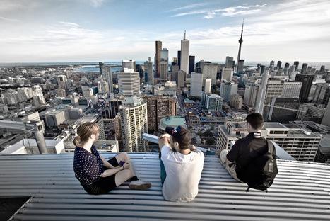 Portraits on Toronto's Forbidden Rooftops | Modern Ruins | Scoop.it