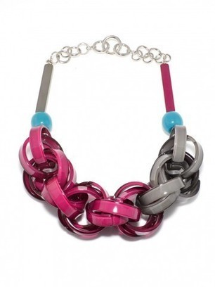 lucite links necklace by the curated accessory   styleosophy   Scoop.it