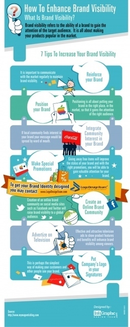 How To Enhance Brand Visibility [INFOGRAPHIC] | digitalmashup | Scoop.it