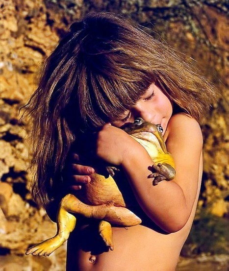 The Incredible Story of Tippi Degre, a Real Life Mowgli | Strange days indeed... | Scoop.it