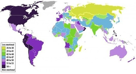 Emotion of countries mapped | The Big Picture | Scoop.it