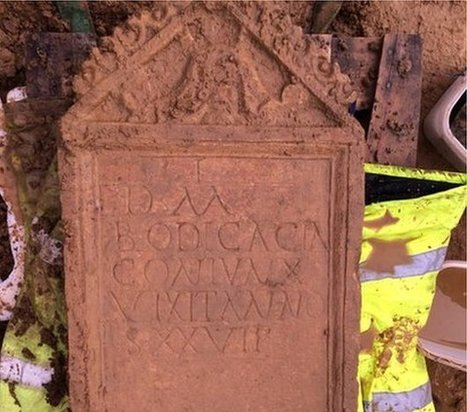 'Unique' Roman tombstone unearthed | Roma Antiqua | Scoop.it