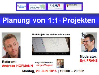 Einladung zu kostenloser Online-Fortbildung: Planung von 1:1- Projekten | Moodle and Web 2.0 | Scoop.it