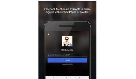 L'application Mention de Facebook débarque sur Android | Presse-Citron | mon identite numerique | Scoop.it