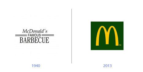 16 logos célèbres qui ont complétement changé d'aspect | Identité visuelle | Scoop.it