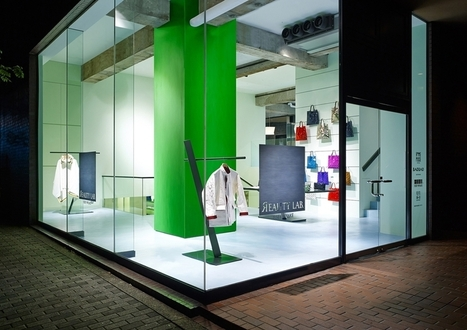 Reality Lab Issey Miyake - Tokyo - ADDICTED TO RETAIL   News about Commercial Real Estate   Scoop.it