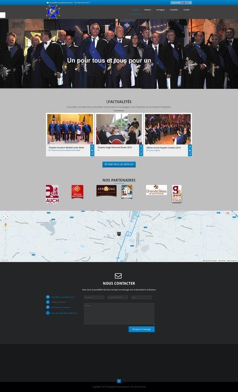 Site internet #drupal pour la Compagnie des Mousquetaires d'Armagnac | Création sites internet Drupal & Magento made in Gers - Toulouse | Scoop.it