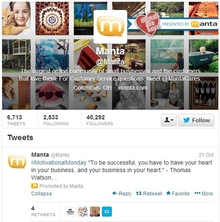11 Powerful Twitter Tips for Small Businesses   Social Media & you ...   Scoop.it