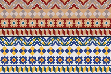 Free Spanish Tile Vector - Creative by The Sea | Freakinthecage Webdesign Lesetips | Scoop.it