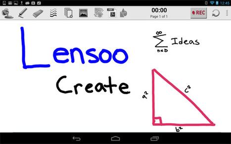 Lensoo Create: app per dispositivi mobili, lavagna digitale per creare e condividere contenuti e lezioni - Bring your ideas to life. Instantly   Tecnologie Educative - TICs - TACs   Scoop.it