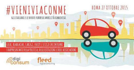 Fleed Digital Consulting: Gli italiani e le nuove forme di mobilità condivisa | Social Media Press | Scoop.it