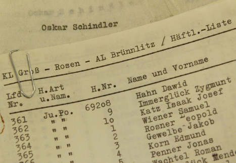 Original Schindler's List To Be Auctioned Off On eBay | scitechno | Scoop.it