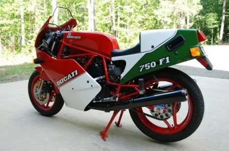 443-Mile 1988 Ducati 750 F1 | ThrottleYard.com | Desmopro News | Scoop.it