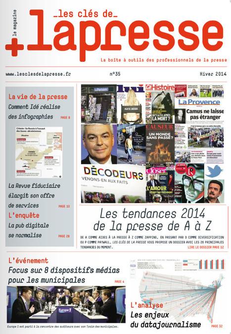 Les clés de la presse n°35, Hiver 2014 | DocPresseESJ | Scoop.it