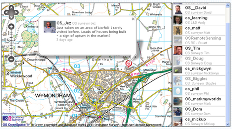 Ordnance Survey Blog » All of a Twitter about mapping | Mapmakers | Scoop.it