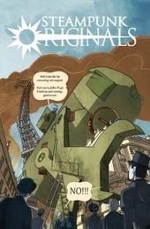 Comic Review: Steampunk Originals, Vol. 1 - Geeks of Doom   Just Put Some Gears on It   Scoop.it